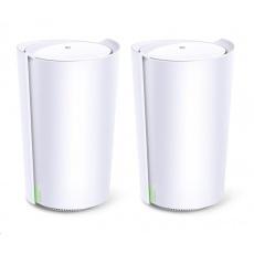TP-Link Deco X90(2-pack) [Wi-Fi Mesh systém AX6600 pro pokrytí celé domácnosti]