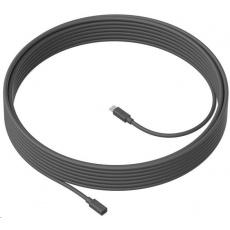 Logitech MeetUp Mic Extension cable - graphite ROZBALENO