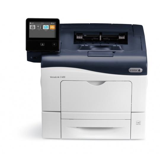 Xerox VersaLink C400, barevná tiskárna, A4, 36ppm, Duplex, USB, Ethernet, 2GB ram