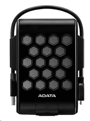 "ADATA  Externí HDD 2TB 2,5"" USB 3.0, DashDrive™ Durable HD720, G-sensor, černý, (gumový, vodě/nárazu odolný)"