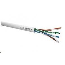 Instalační kabel Solarix UTP, Cat5E, drát, PVC, box 100m SXKD-5E-UTP-PVC