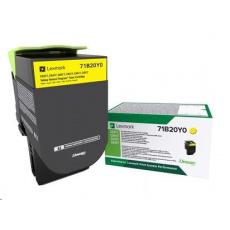Lexmark C330H20 Azurová vysokokapacitní tisková kazeta