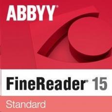 ABBYY FineReader PDF 15 Standard, Single User License (ESD), GOV/NPO, Perpetual