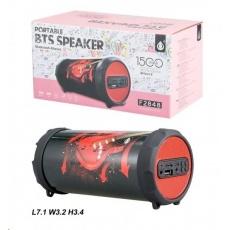 PLUS Bluetooth reproduktor Mini F2848 Red Guitar