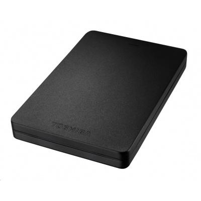 "TOSHIBA HDD CANVIO ALU 1TB, 2,5"", USB 3.0, černý"
