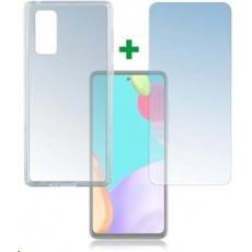 4smarts 360° Protection set (tvrzené sklo + gelový zadní kryt) pro Samsung Galaxy A52