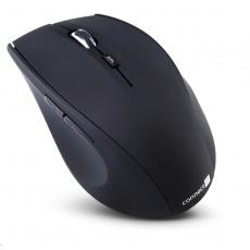 CONNECT IT Myš CI-61 bezdrátová, optická, USB s dongle, matná, černá