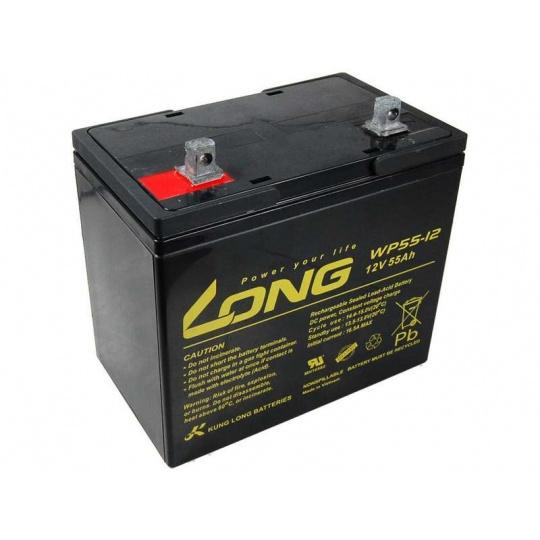 Long 12V 55Ah olověný akumulátor F15