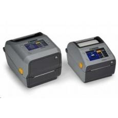 Zebra ZD621d, 8 dots/mm (203 dpi), cutter, RTC, USB, USB Host, RS232, BT (BLE), Ethernet, grey