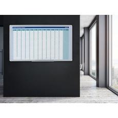 Plánovací tabule AVELI, roční, 90x60 cm