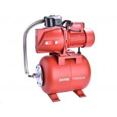 Extol Premium čerpadlo proudové s tlakovou nádobou, 750W, 5270l/hod