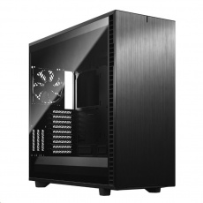 FRACTAL DESIGN skříň Define 7 XL Light Tempered Glass Full Tower, černá, bez zdroje