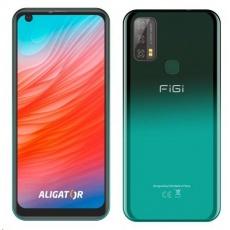Aligator FIGI Note3, Dual SIM, 32 GB, zelená