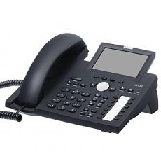 "Snom IP telefon D375, 12 SIP, 4,3"" barevný LCD, 10/100/1000 Mbps, Wi-Fi, BT, USB, PoE"