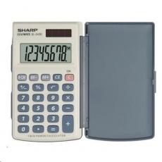 SHARP kalkulačka - EL243S - šedo-modrá