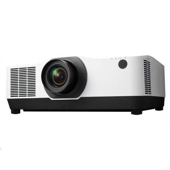 NEC Projektor LCD PA1004UL wh(1920x1200,10000ANSI,3000000:1) 20000h lamp,D-SUB,DP, HDMI,LAN