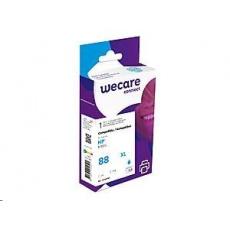 WECARE ARMOR cartridge pro HP Officejet K550 (C9391A), modrá/cyan HC, 24 ml