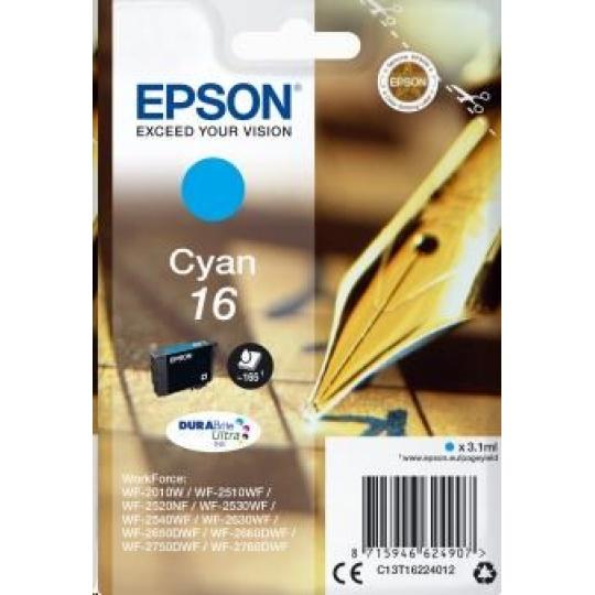 "EPSON ink bar Singlepack ""Pero"" Cyan 16 DURABrite Ultra Ink"