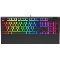 SPC Gear klávesnice GK650K Omnis Pudding Edition / herní / mechanická / Kailh Red / RGB / US layout / černá