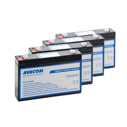 AVACOM bateriový kit pro renovaci RBC34 (4ks baterií)