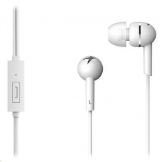 GENIUS sluchátka HS-M300 headset, bílá