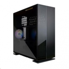 IN WIN skříň 315, mid tower, 1xUSB-C, 2xUSB 3.0, průhledná bočnice, černá