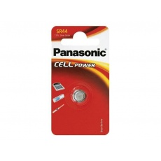 PANASONIC Stříbrooxidové - hodinkové baterie SR-44L/1BP 1,55V (Blistr 1ks)