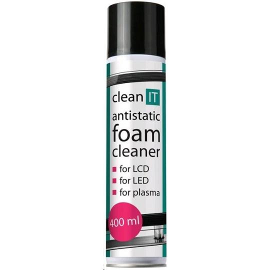 CLEAN IT Antistatická čistící pěna na obrazovky 400ml