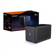 GIGABYTE Externí VGA NVIDIA RTX 3080 Ti AORUS GAMING BOX, RTX 3080 Ti, 12G GDDR6X, 3xDP, 2xHDMI