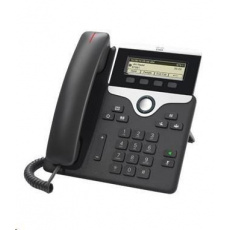Cisco CP-7811-3PCC-K9=, VoIP telefon, 1line, 2x10/100, displej, PoE - REFRESH