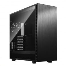 FRACTAL DESIGN skříň Define 7 XL Dark Tempered Glass Full Tower, černá, bez zdroje