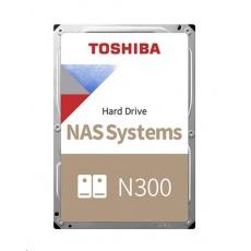 "TOSHIBA HDD N300 NAS 4TB, SATA III, 7200 rpm, 128MB cache, 3,5"", RETAIL"