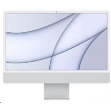 APPLE 24-inch iMac Retina 4.5K M1 8 core CPU and 8 core GPU,16GB, 256GB, touch ID, Ethernet - Silver
