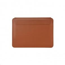 COTEetCI PU tenké pouzdro s magnetickým zapínáním pro Apple Macbook Pro 16 hnědá