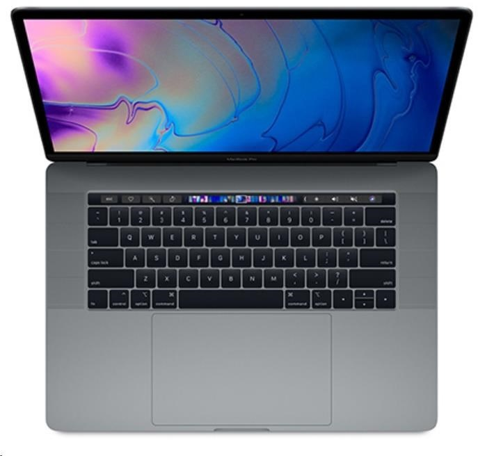 APPLE 15-inch MacBook Pro with Touch Bar: 2.2GHz 6-core 8th-gen. IntelCorei7, 256GB - Space Grey