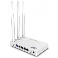 Netis WF-2409E AP/Router, 4x LAN, 1x WAN, 802.11b/g/n, 2.4GHz, 3x5dBi anténa, IPTV