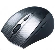 CONNECT IT Myš CI-186 CARBON USB optická, bezdrátová